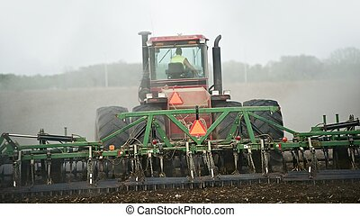 Agriculture Works - Heavy Duty Tractor Pulling Soil Finisher...