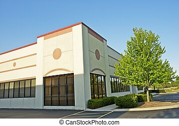 Commercial Building - Retail Building Corner Office Space...