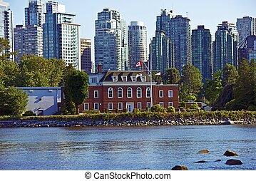 Vancouver Cityscape - Vancouver, British Columbia, Canada...