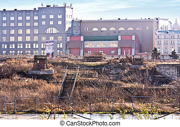 Zaryadye Wasteland - Vast wasteland in central Moscow near...