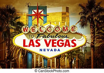 Las Vegas Famous South Entrance Sign
