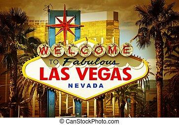 Las Vegas Famous South Entrance Sign