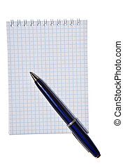 note pad with copy space