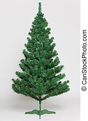 Christmas tree undecorated - Undecorated Christmas tree on...
