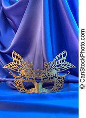 Carnival mask and fun - Carnival mask gold new year unisex...