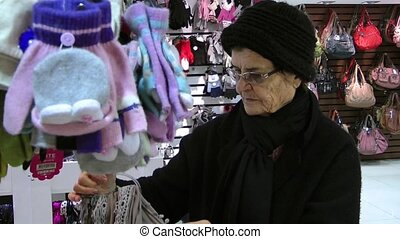 Old Woman in the Store