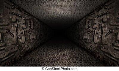 Antique Age Walls Corridor Loop
