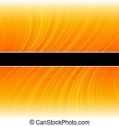 Abstract warped yellow stripes colorful background -...