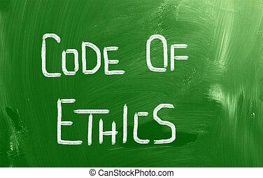 Code Of Ethics Concept