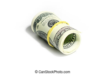 dollars - paper note dollars as part of the pay system