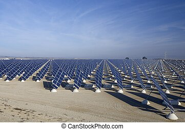 Solar Energy - Photovoltaic panels for renewable electric...
