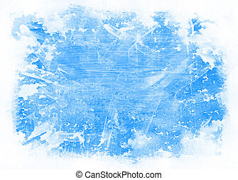 Watercolor background - Abstract blue watercolor background,...