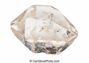 Terminated quartz - Double terminated clear quartz crystal