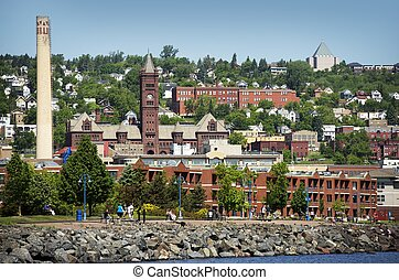 Duluth Minnesota - Duluth is a Seaport City in the U.S....