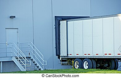 Semi Truck Delivery