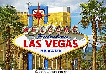 Fabulous Vegas Sign - Fabulous Vegas City Entrance...