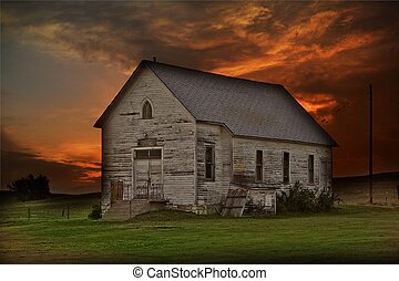 Rustic Prairie Building - Somewhere in Western South Dakota...