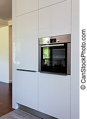 Bright space - oven wall - Bright space - a wall full of...