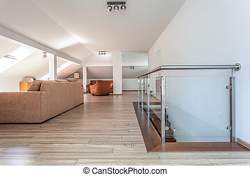 Bright space - living room upstairs - Bright space - a...
