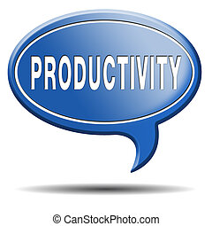 productivity industrial or business productive time...