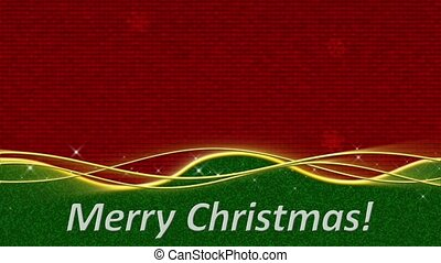 Merry Christmas Loop - Text Merry Christmas is...