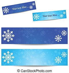 Cold banner