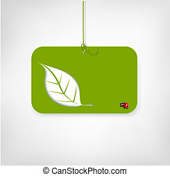 vector banner on environmental issues