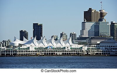 Vancouver Cityscape - Downtown Vancouver, British Columbia,...