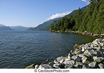 British Columbia, Canada Landscape. Canadian South West....