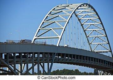 Fremont Bridge Portland, Oregon, USA. Oregon Photography...