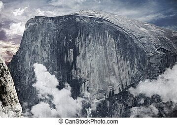 Half Dome Yosemite - Half Dome is a Granite Dome in Yosemite...