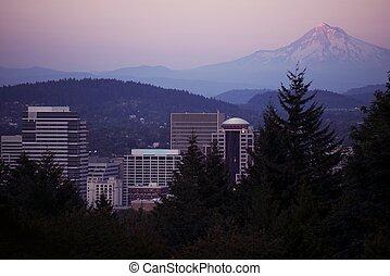 mt,  Portland, capucha