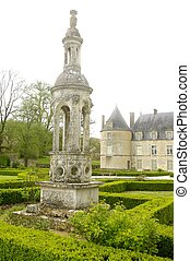 Campanile at Bussy-Rabutin Castle - Campanile in the garden...