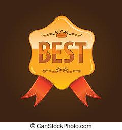 medal for 1st plase - medal for 1st place, gold award for...