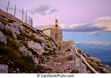 Chapel of sv Jure in Biokovo park, Croatia - Little chapel...