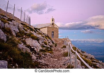 Chapel of sv. Jure in Biokovo park, Croatia - Little chapel...