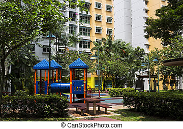 residential estate - Residential estate with playrground on...
