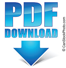 pdf download icon - Vector illustration of pdf download icon
