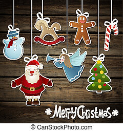 Christmas elements - Vector collection of Christmas elements...