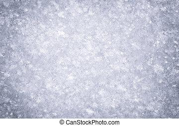 Snow texture macro