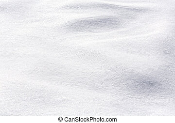 Shiny snow background - Texture of snow on sunny day