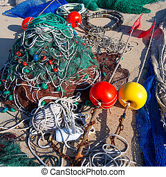 Formentera Balearic Islands fishing tackle nets longliner...