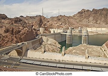 Hoover Dam - Previously Known as Boulder Dam, is a Concrete...