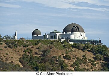 Observatory Griffith in California, USA. Griffith Park.