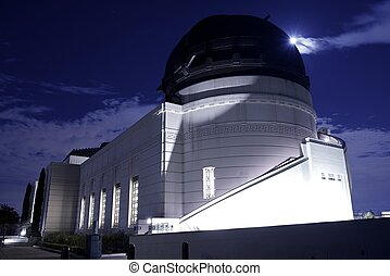 Griffith Park and Observatory in Los Angeles, California,...