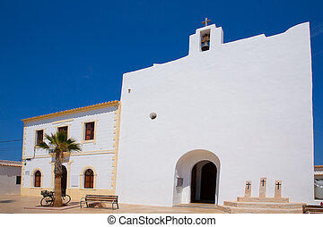 Formentera Sant Francesc San Francisco Javier church in...