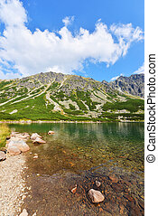 Tatry mountains - Beautiful landscape of Polish Tatry...