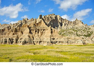 Geologic Forces - Badlands Has Been Formed by the Geologic...