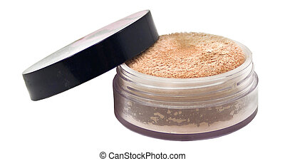 cosmetics, on a white background is - Accessories such as...