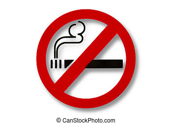 No Smoking Sign, Photo taken on: 03032013 , Generally in...